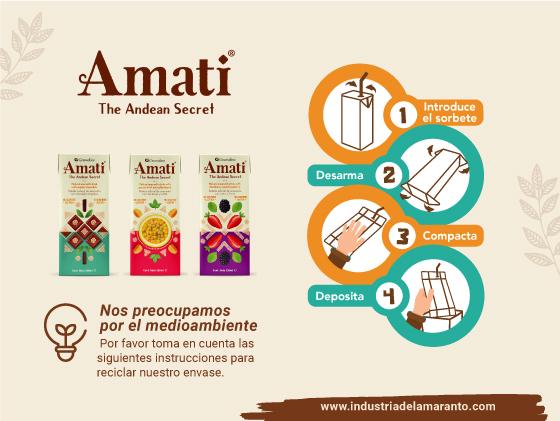 BebidaDeAmaranto Recicla el Tetra Pak