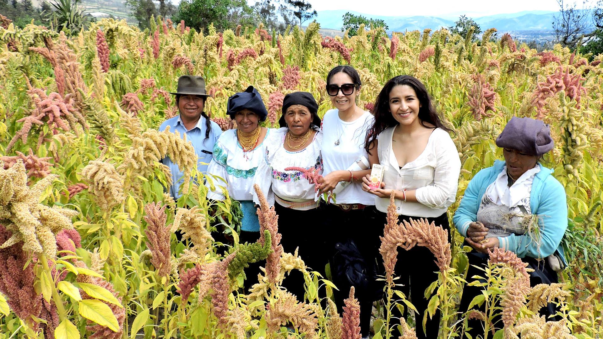 Comunidad productora de Amaranto.